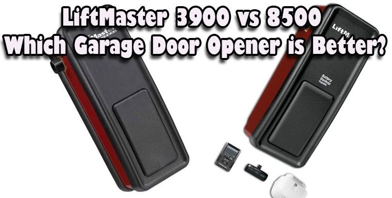 LiftMaster 3900 vs 8500