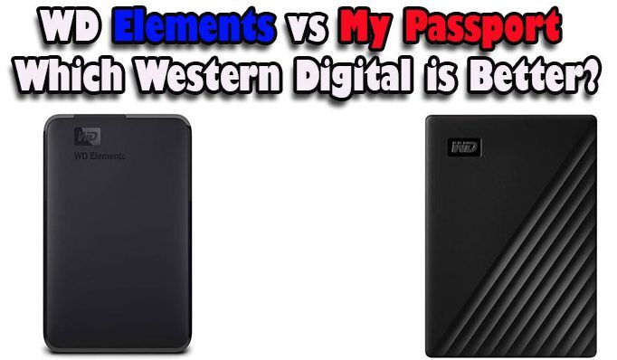 WD Elements vs My Passport