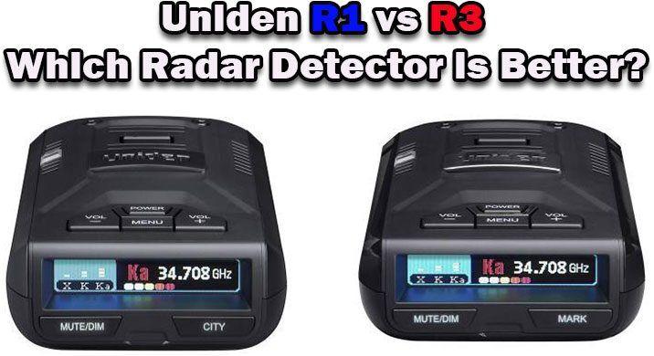 Uniden R1 vs R3