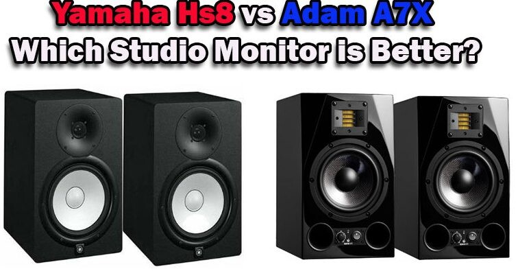 Yamaha Hs8 vs Adam A7X