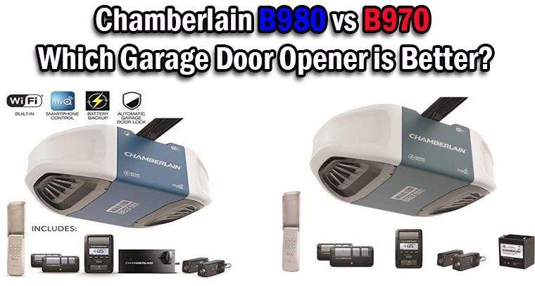 Chamberlain B980 vs B970