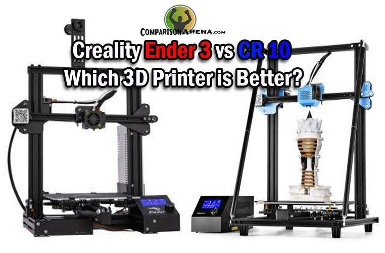 Creality Ender 3 vs CR 10