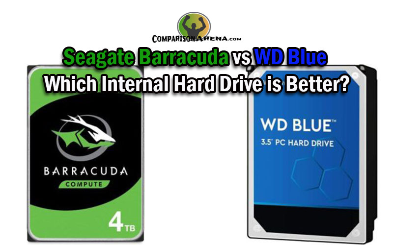 Seagate Barracuda vs WD Blue