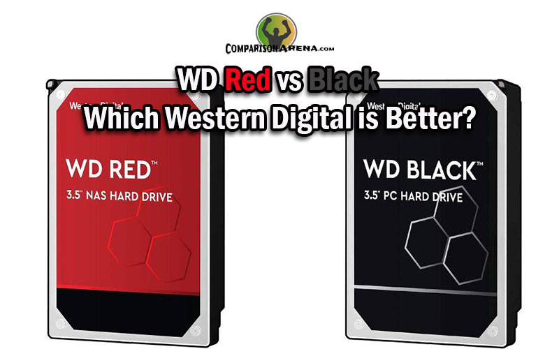 WD Red vs Black