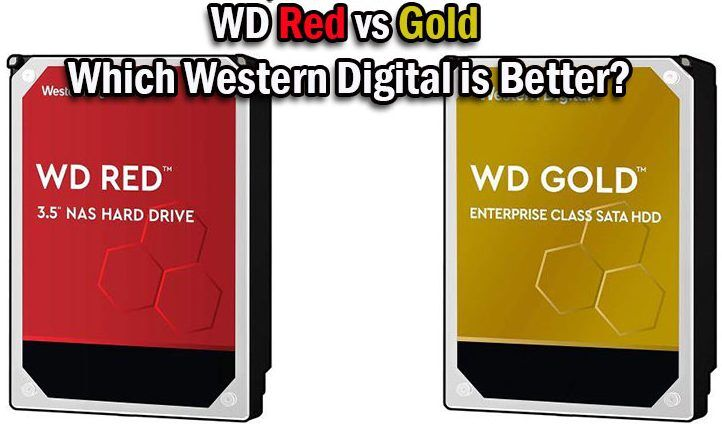 WD Red vs Gold