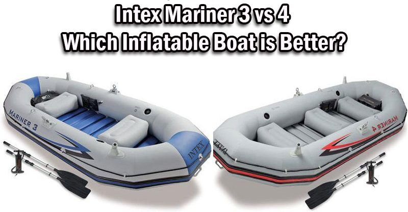 Intex Mariner 3 vs 4