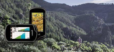Garmin Oregon 600 handheld GPS