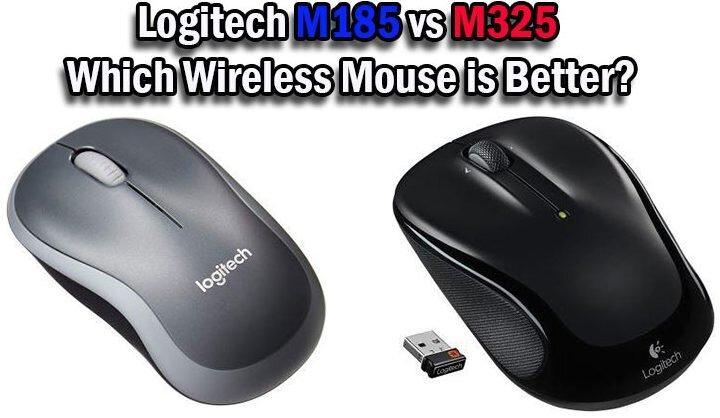Logitech M185 vs M325