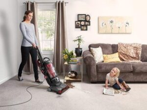 Hoover WindTunnel 3 High Performance Pet Bagless Corded Upright Vacuum Cleaner